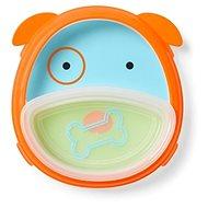 Skip Hop Zoo 2v1 - talíř a miska -  Pejsek - Dětská jídelní sada