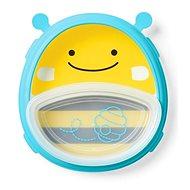Skip Hop Zoo 2v1 - talíř a miska - Včelka - Dětská jídelní sada