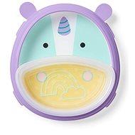 Skip Hop Zoo 2v1 - talíř a miska - Jednorožec - Dětská jídelní sada
