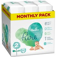 PAMPERS Pure Protection Size 2 (117 pcs) - Baby Nappies