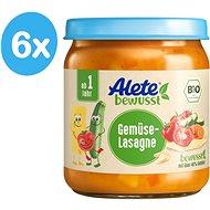 ALETE BIO Zeleninové lasagne 6× 250 g - Dětský příkrm