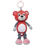 CANPOL BABIES Soft Toy with Music Box - Red - Toddler Toy