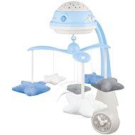Canpol babies Kolotoč hvězdičky - modrý - Kolotoč nad postýlku