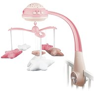 Canpol Babies Carousel Stars - Pink - Cot Toy