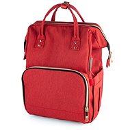 Canpol babies Přebalovací batoh LADY MUM - červený - Přebalovací batoh