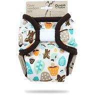 PETIT LULU  Novorozenecké svrchní kalhotky - houbičky - Plenkové kalhotky