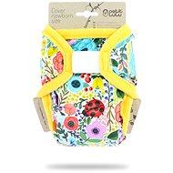 PETIT LULU  Novorozenecké svrchní kalhotky - rozkvetlá zahrada