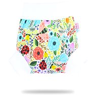 PETIT LULU  Pull-up svrchní kalhotky M - rozkvetlá zahrada - Plenkové kalhotky
