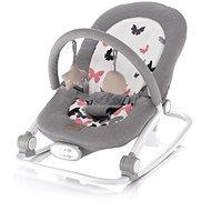 Zopa Relax Grey butterflies - Dětské lehátko