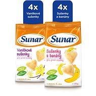 Sunárek dětské sušenky mix karton 8× 175 g - Sušenky pro děti