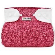 T-tomi Abdukční kalhotky - patentky, red orient (3-6 kg) - Abdukční kalhotky