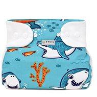 T-tomi Abdukční kalhotky - patentky, sharks (3-6 kg) - Abdukční kalhotky