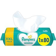 PAMPERS Sensitive XXL 80 ks