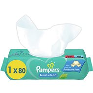 PAMPERS Fresh Clean XXL 80 ks