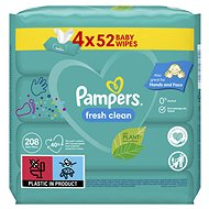 PAMPERS Fresh Clean 4× 52 ks