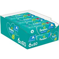 PAMPERS Fresh Clean XXL 6× 80 ks