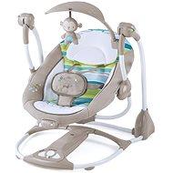 Ingenuity Houpačka vibrující s melodií Moreland 2v1 do 9 kg - Dětské lehátko
