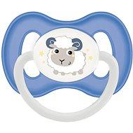 Canpol babies Dudlík kaučukový 0–6 měsíců modrý - Dudlík