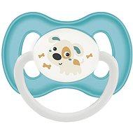 Canpol babies Dudlík kaučukový 6–18 měsíců tyrkysový