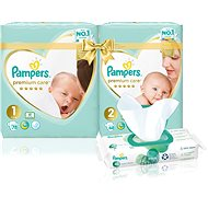 PAMPERS Premium Care Starter Pack - Sada