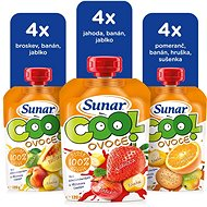 Sunárek cool ovoce - mix karton II 12× 120 g - Příkrm