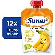 Sunárek Hand-held Banana  Drink 12 × 100g - Baby Food