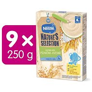 NESTLE BL Milk Porridge Wheat Oat 9 × 250g