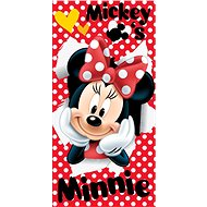 Jerry Fabrics osuška - Minnie Red - Dětská osuška
