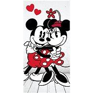 Jerry Fabrics osuška - Mickey&Minnie in love - Dětská osuška