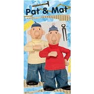 Jerry Fabrics osuška - Pat a Mat ''Blue'' - Dětská osuška
