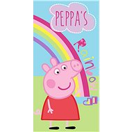 Jerry Fabrics osuška - Peppa Pig Rainbow - Dětská osuška