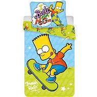 Jerry Fabrics ložní povlečení - Bart on Skate - Dětské povlečení