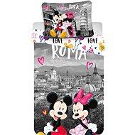 Jerry Fabrics ložní povlečení - Mickey&Minnie in Rome - Dětské povlečení