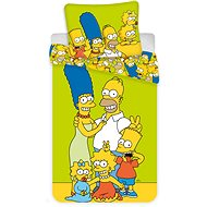 """Jerry Fabrics Bedding - The Simpsons Family """"Green"""" - Children's Bedding"""