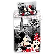 Jerry Fabrics ložní povlečení - Mickey&Minnie in NY - Dětské povlečení