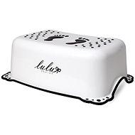 Maltex Stupínek Lulu protiskluzový - bílý - Stupátko