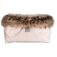 Beztroska Rukávník s kožešinou pink powder - Rukávník