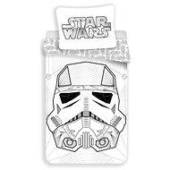 Jerry Fabrics ložní povlečení - Star Wars White - Dětské povlečení