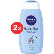 NIVEA Baby Cream Bath 2× 500 ml - Dětská pěna do koupele