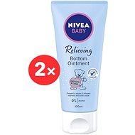 NIVEA Baby Bottom Ointment 2× 100 ml - Krém na opruzeniny