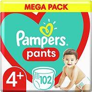 PAMPERS Pants Maxi+ vel. 4+ (102 ks) – Mega Box - Plenkové kalhotky