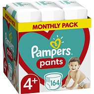 Pampers Pants Maxi+ size 4+ (164pcs) - monthly pack - Nappies