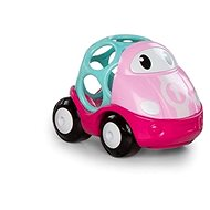 Oball autíčko závodní Lily růžová 18m+