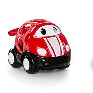 Hračka pro nejmenší Oball autíčko závodní Jack červené 18m+
