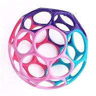 Oball hračka 10 cm 0m+, růžovo-fialová - Hračka pro nejmenší