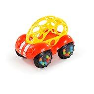 Oball Rattle & Roll červeno/žluté 3m+ - Hračka pro nejmenší