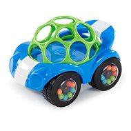 Oball Rattle & Roll modro/zelené 3m+ - Hračka pro nejmenší