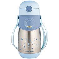 Canpol babies Termoláhev se slámkou 300 ml modrá - Dětská termoska
