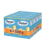 Sunar Standard 2, 8× 500 g - Kojenecké mléko