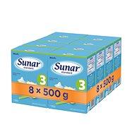 Sunar Standard 3, 8× 500 g - Kojenecké mléko